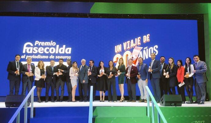 Ceremonia Premio Fasecolda al Periodismo de Seguros 2019.