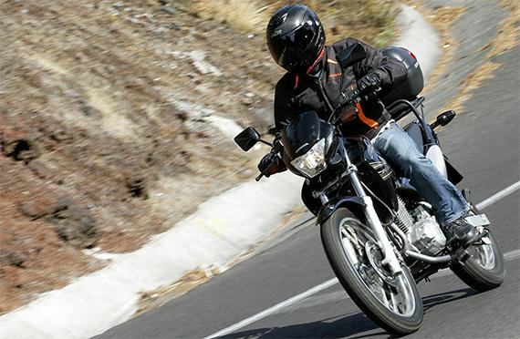Los motociclistas son los más propensos a sufrir accidentes.